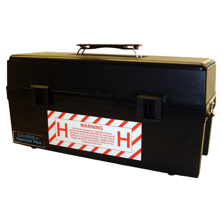 Omega Plus Type H Asbestos Vacuum - VACOMEGAUM