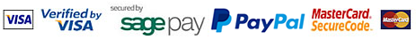 Available Payment Methods - Secured by SagePay
